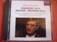 Bruckner,Symphony No.6,Wagner,Idyll San Francisco Symphony dir.H.Blomstedt