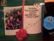 Fröhliche Weihnachten und ein glückliches neues Jahr - Helmut Zacharias Orchester und westfällische Nachtigallen