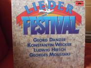 Liederfestival - Danzer, Wecker, Hirsch, Moustaki