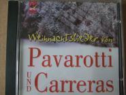 Weihnachtslieder von Pavarotti und Carreras