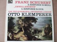 8. Sinfonie H-Moll, 5. Sinfonie B-Dur /F.Schubert, Philharmonie London Dir. O.Klemperer