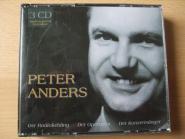 Peter Anders Der Radioliebling Der Opernstar Der Konzertsänger 3CD-Box