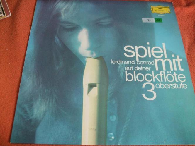 Ferdinand Conrad -  Spiel mit auf deiner Blockflöte 3 (1970)