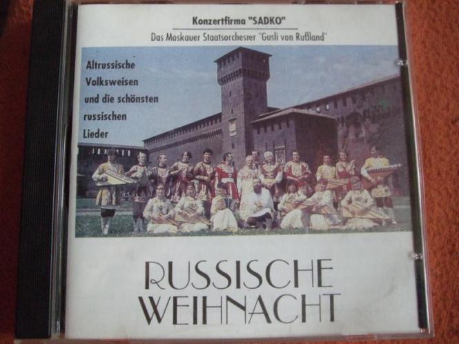 """Das Moskauer Staatsorchester """"Gusli von Rußland"""" - Russische Weihnacht"""